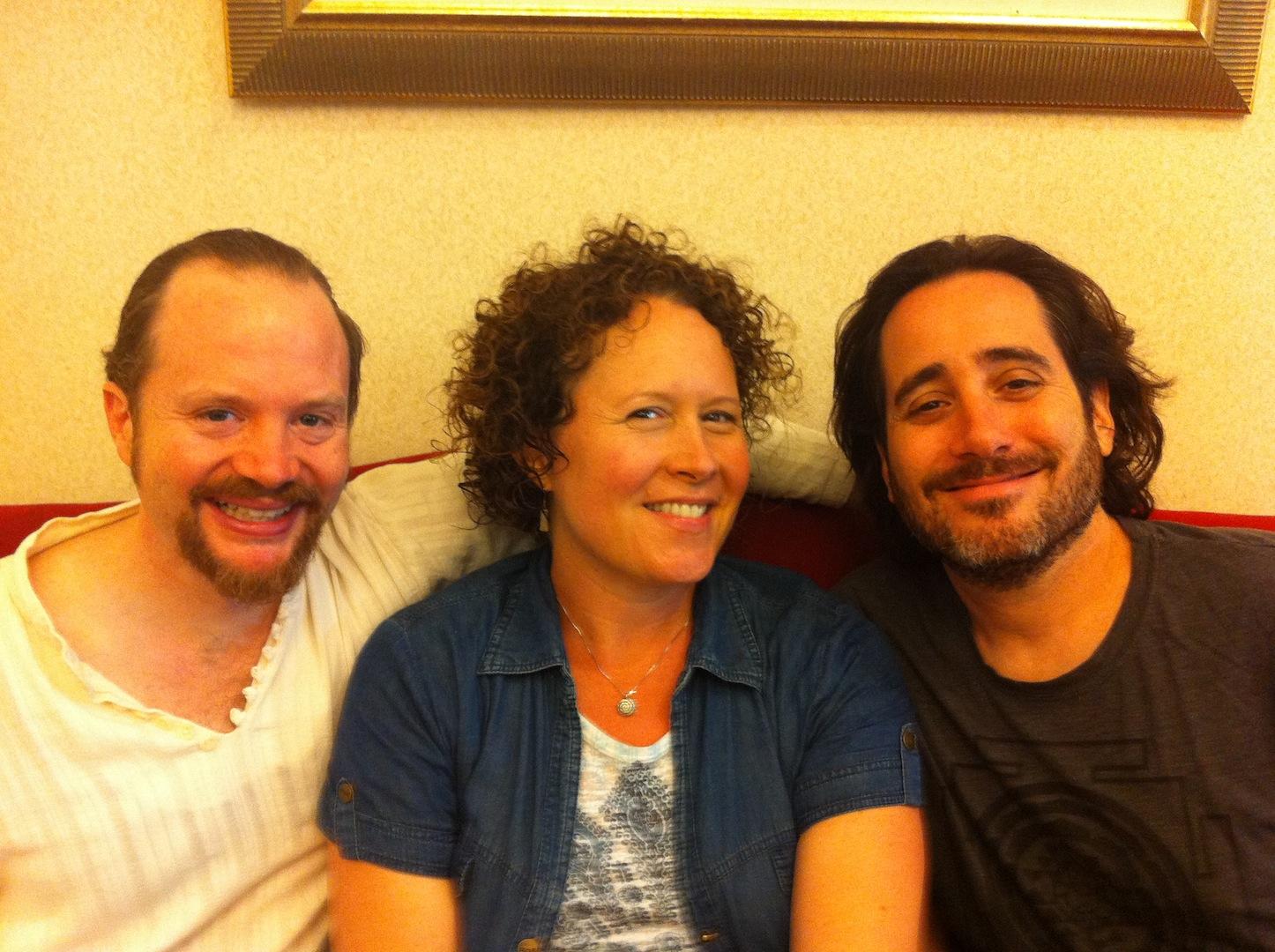 with Sean Johnson and David Newman