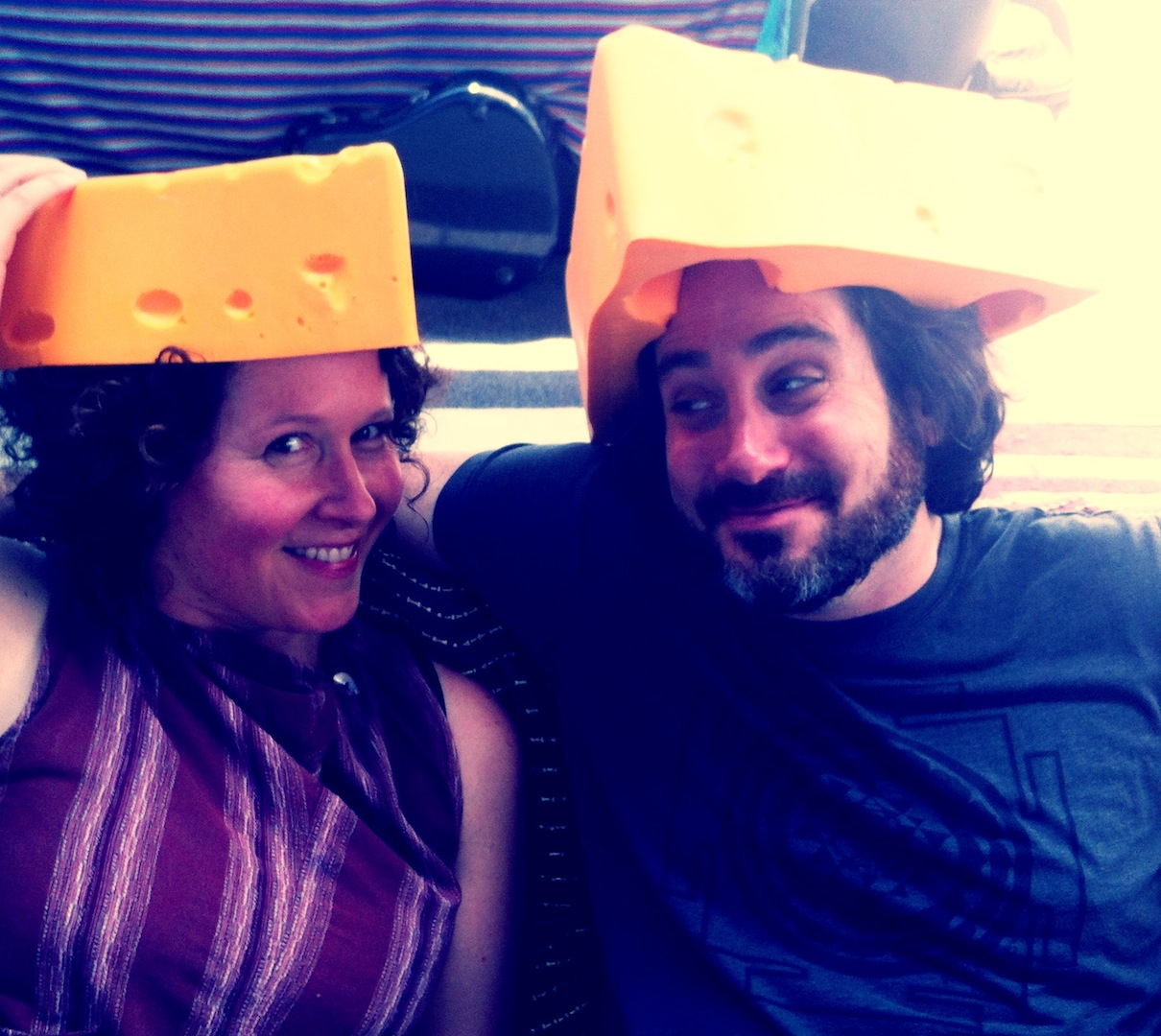 Brenda and David Newman - Wisconsin Cheeseheads!!