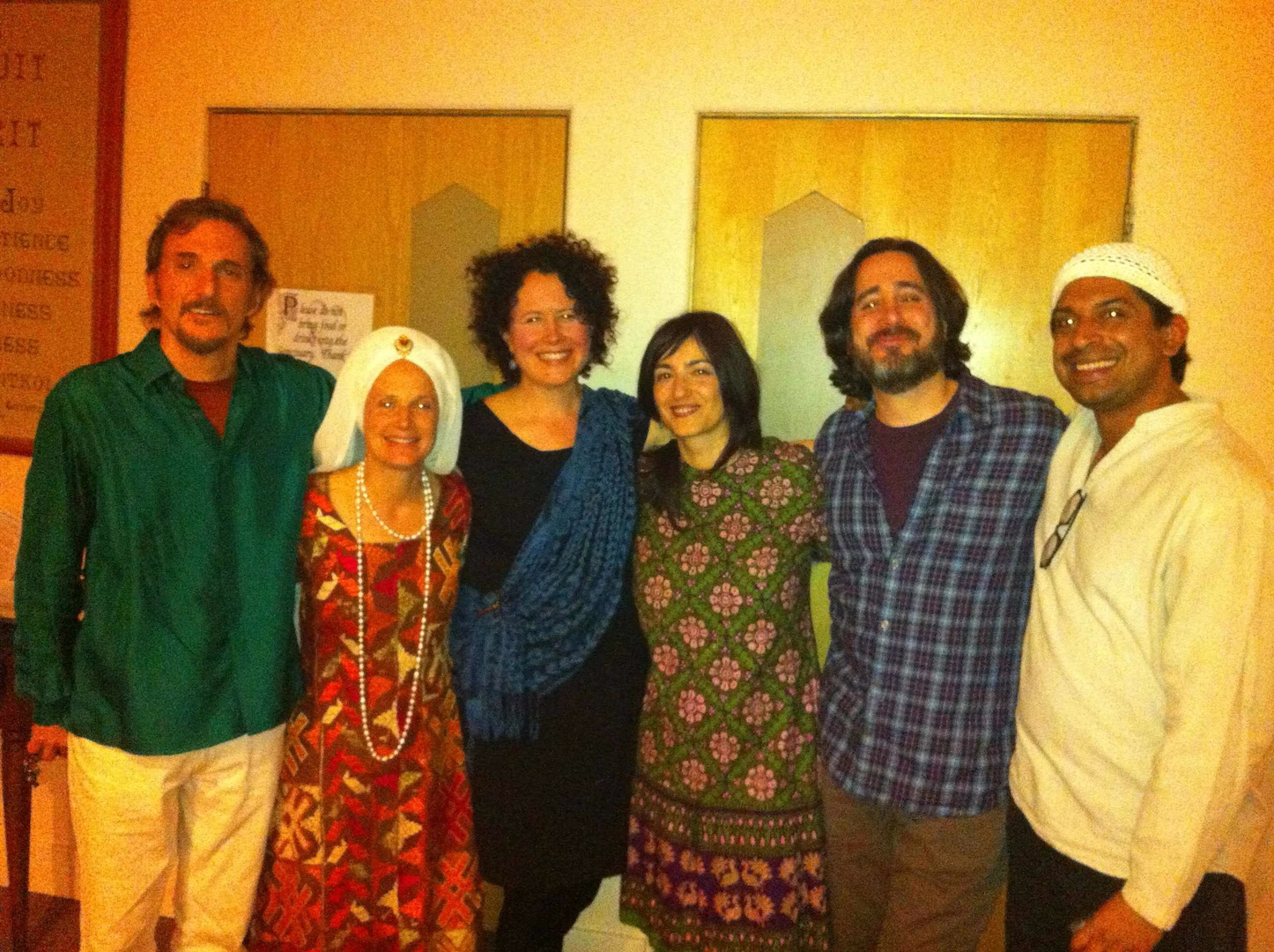 With Snatam Kaur, Boulder, Colorado