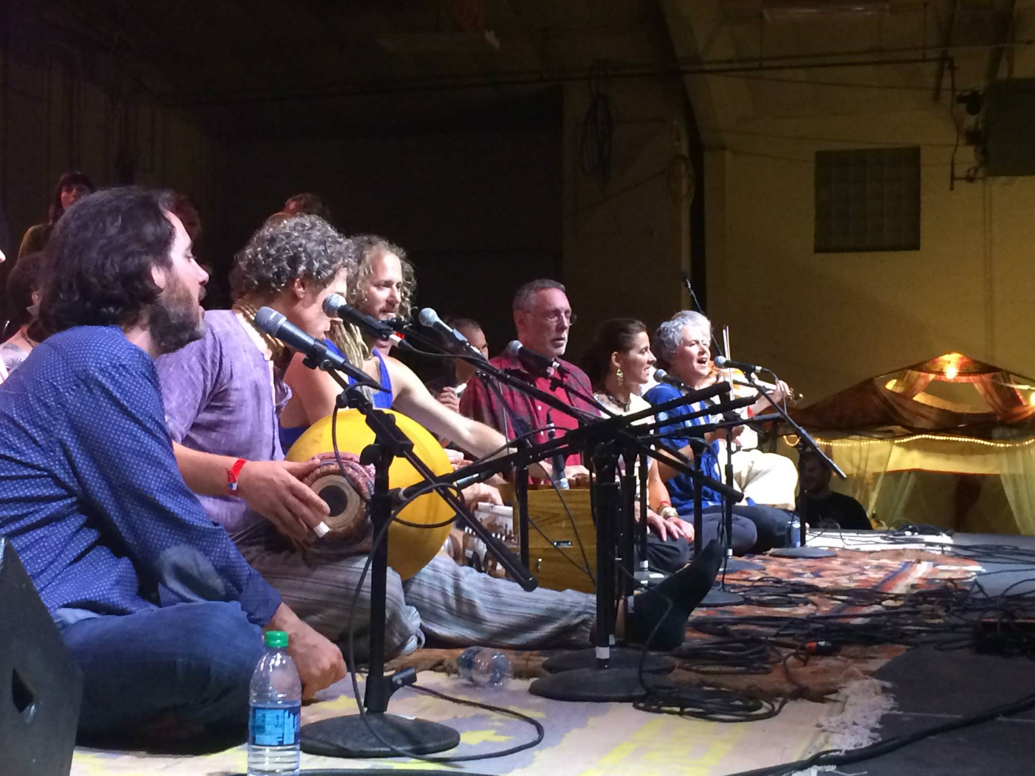 Brenda with Krishna Das, Ragani, David Newman, Govindas, Prema Hara and more at the Bhakti Fest Midwest Jam, 2014