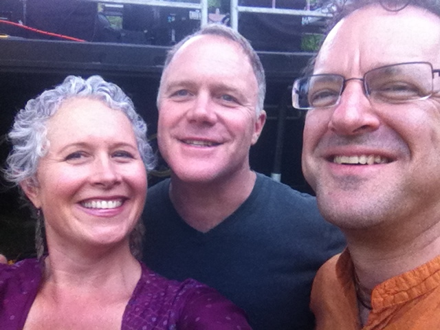 with John de Kadt and Adam Bauer at Unifier Festival