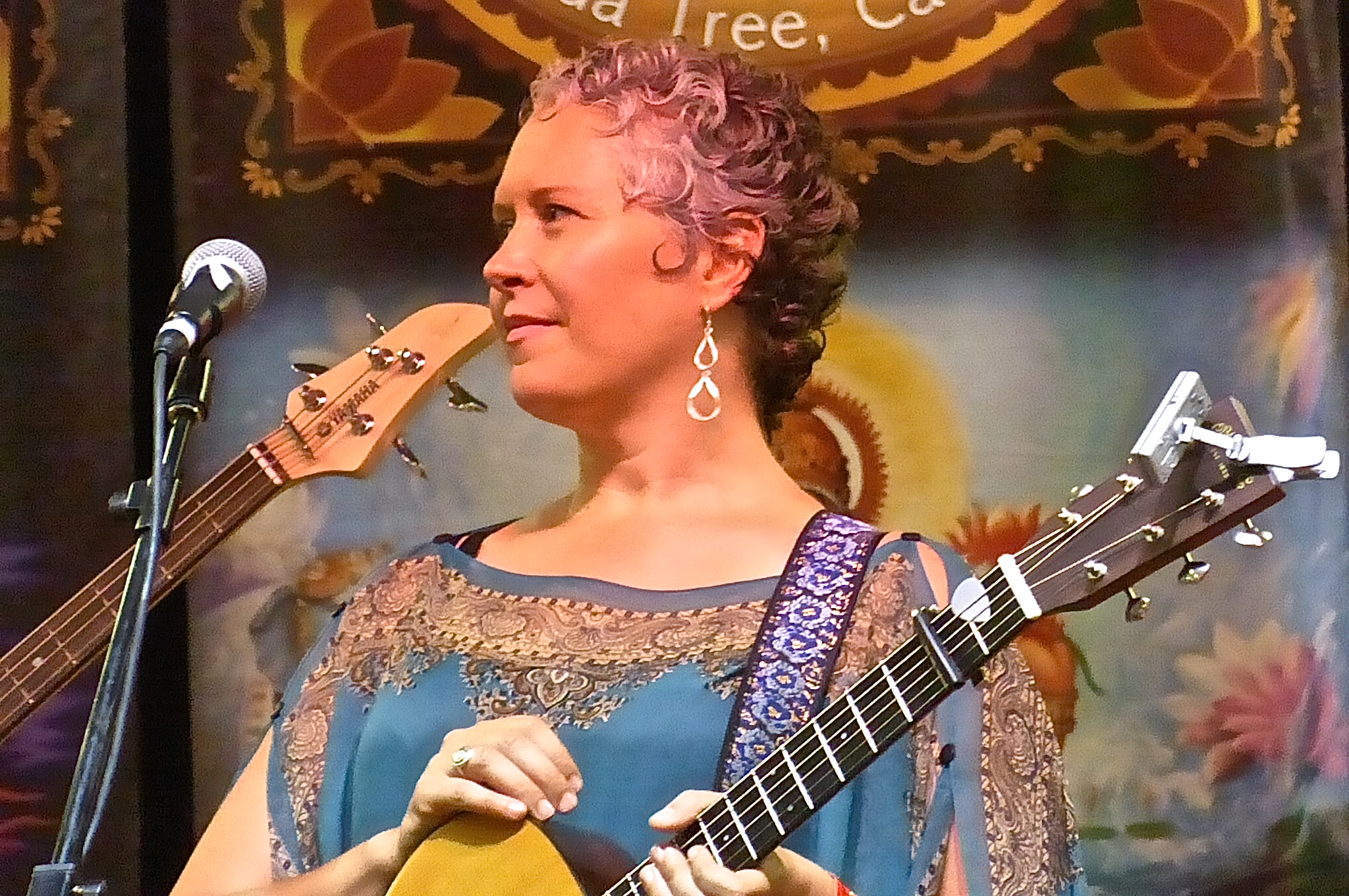Brenda at Bhakti Fest Midwest 2014 photo by Maie P Jyoti