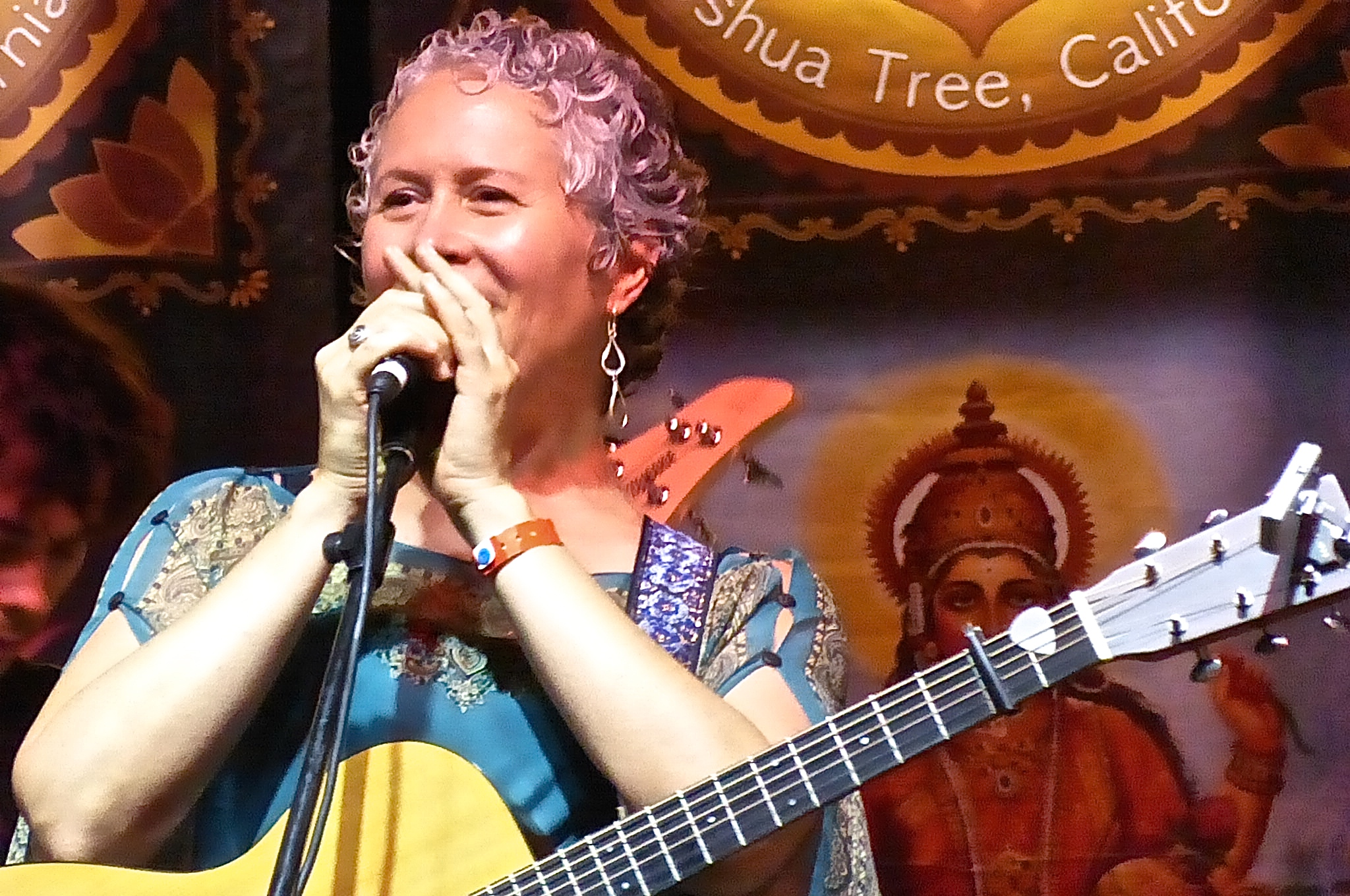 Brenda at Bhakti Fest Midwest 2014 - photo by Maie P. Jyoti