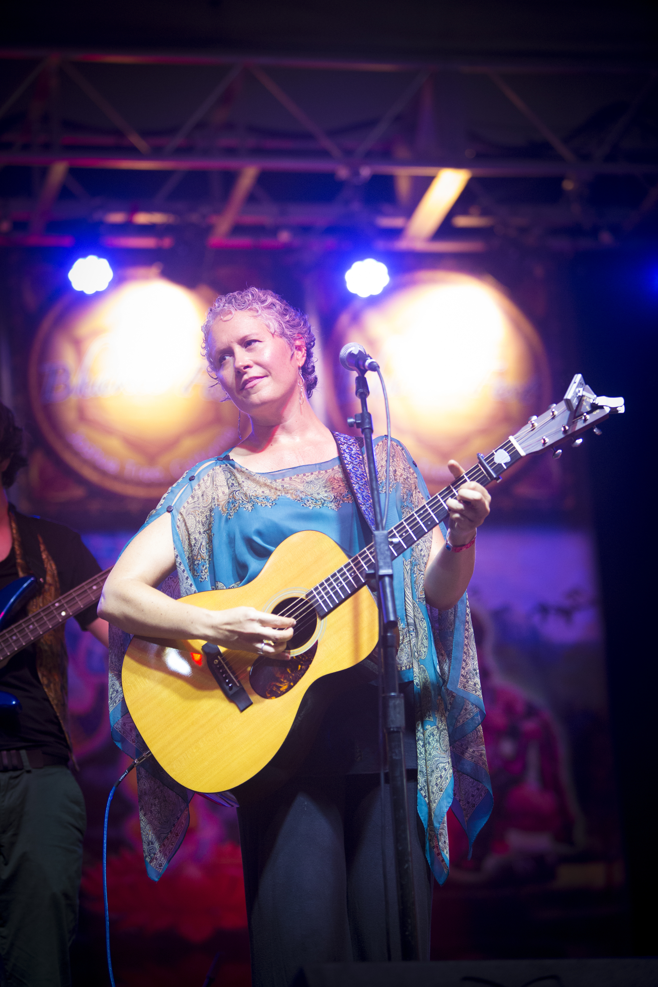 Brenda at Bhakti Fest Midwest, 2014 - photo by Mitchell Manz
