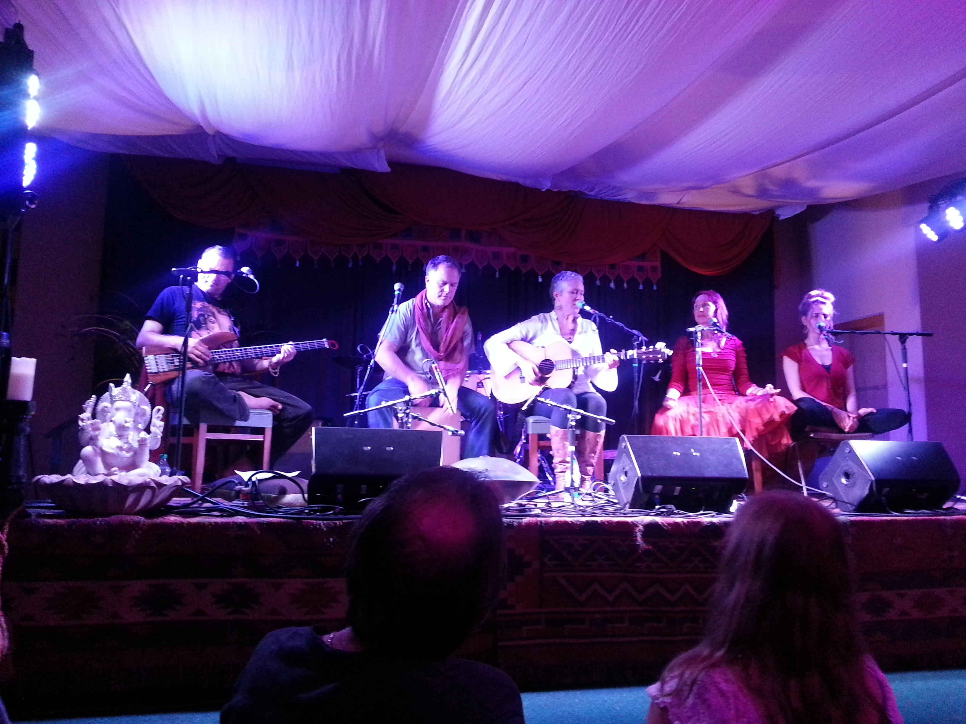 Ahimsa Festival, Windham New York, 2014 with John de Kadt, Adam Bauer, Lee Harrington, Carrie Grossman